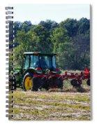 Raking The Hay Spiral Notebook