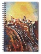 Raleigh Sunrise II Spiral Notebook