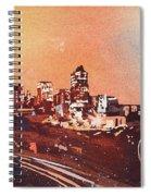Raleigh Sunrise Iv Spiral Notebook