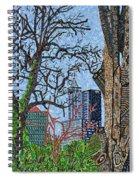 Raleigh - View From Chavis Park Spiral Notebook