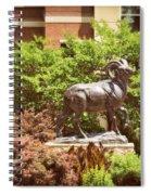 Ram Statue Spiral Notebook