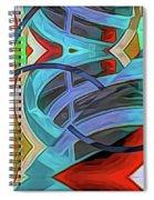 Ramped Up Spiral Notebook
