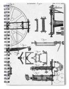 Ramsdens Dividing Engine, 18th Century Spiral Notebook