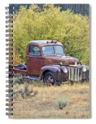 Ranch Truck II Spiral Notebook
