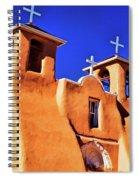 Ranchos De Taos Church Spiral Notebook