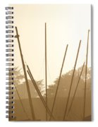 Random Masts Spiral Notebook