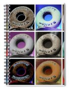 Randy's Donuts - Dozen Assorted Spiral Notebook