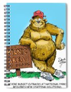 Ranger Bear Spiral Notebook