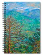Ranges By Arnold Valley Spiral Notebook