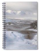 Rannoch Moor Winter Spiral Notebook