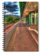 Rannoch Station Platform Spiral Notebook