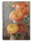 Ranunculus - 6313 Spiral Notebook