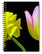 Ranunculus And Tulip Spiral Notebook