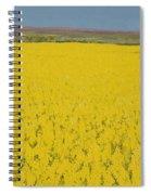 Rape Field Spiral Notebook