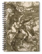 Rape Of Prosperpina Spiral Notebook