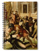 Rape Of The Sabines Spiral Notebook