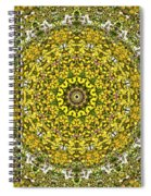 Rapeseed And Apples Spiral Notebook