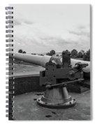 Rapid Fire Gun Spiral Notebook
