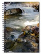 Rapids And Boulders Spiral Notebook