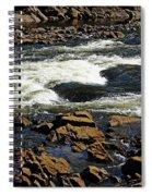 Rapids And Rocks Spiral Notebook