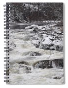 Rapids At Bull's Bridge 1 Spiral Notebook