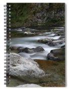 Rapids On The Washougal River Spiral Notebook
