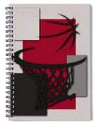 Raptors Hoop Spiral Notebook