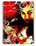 Rapturous Fascination Spiral Notebook