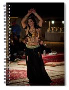 Raqs Sharqi Spiral Notebook