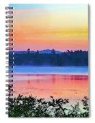 Raquette Sunrise 2 Spiral Notebook