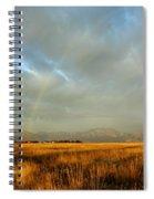 rare Morning Rainbow Spiral Notebook