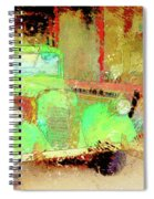 Rare Old-timer Spiral Notebook
