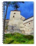 Rasnov Fortress Spiral Notebook