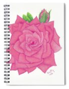 Raspberry Pink Spiral Notebook