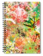 Rasta Flowers Spiral Notebook