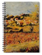 Rasteau Vaucluse  Spiral Notebook