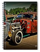 Rat Rod For Sale Spiral Notebook