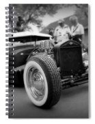 Rat Rod Looker Spiral Notebook