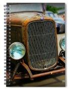 Rat Rod Roadster Spiral Notebook