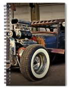 Rat Rod Scene Spiral Notebook