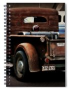 Rat Rod Work Truck Spiral Notebook