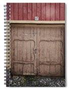 Rauma Old Town Spiral Notebook