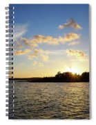 Raumanmeri Sunset Spiral Notebook