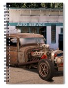 Raunchy Rat Rod Pickup Spiral Notebook