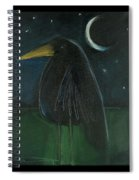 Raven By Moonlight No. 2 Spiral Notebook