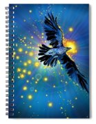 Raven First Bird Spiral Notebook