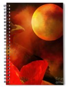 Raven Moon And Poppy 2 Spiral Notebook