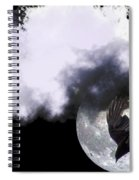 Raven Moon Spiral Notebook