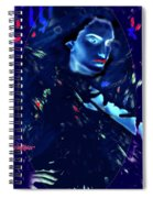 Raven Woman Spiral Notebook