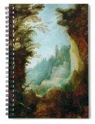 Ravine Between Rocks Spiral Notebook